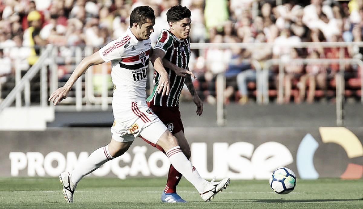 Com direito a expulsão e gol contra, São Paulo e Fluminense empatam no Morumbi