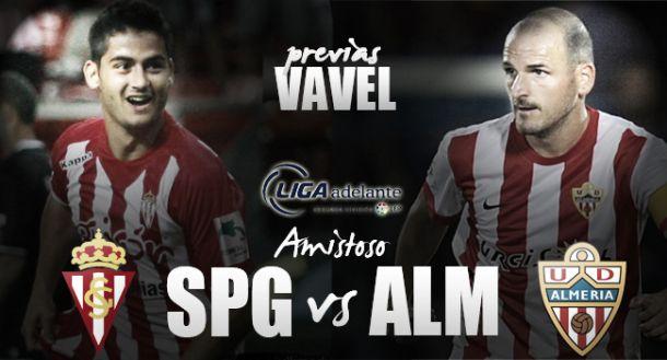 Sporting de Gijón - Almería: continúa la puesta a punto