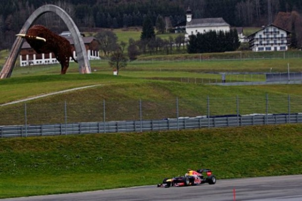 F1 : le Red Bull Ring au calendrier 2014 !