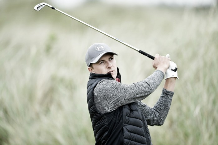British Open: Jordan Spieth, Brooks Koepka, and Matt Kuchar tied for the lead after the first round