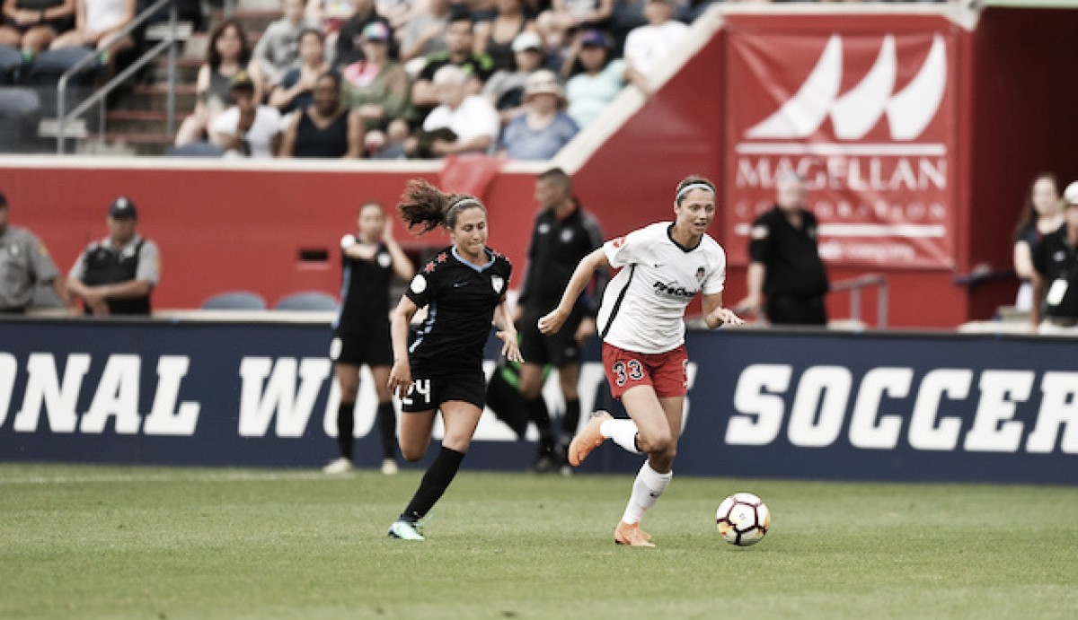 Chicago Red Stars win second-straight game with 2-0 defeat of the Washington Spirit
