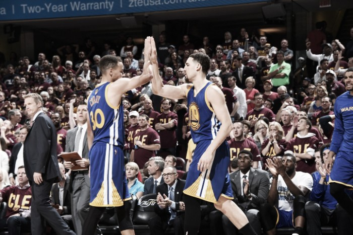 Nba Finals, i Warriors stendono Cleveland per sfinimento