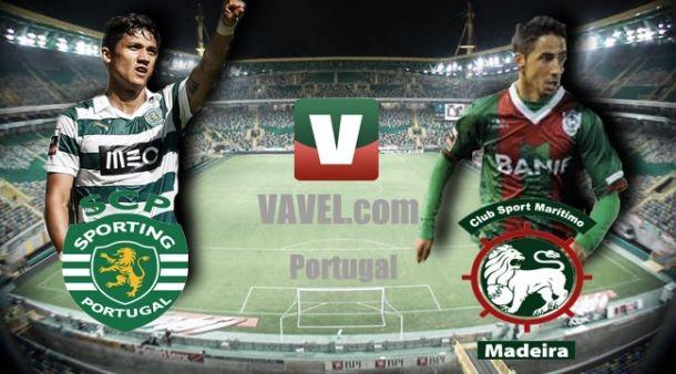 ResultadoMarítimo x Sporting Lisboa no Campeonato Português 2015/2016