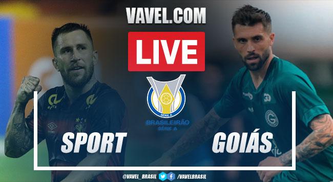 Gols e melhores momentos de Sport x Goiás no Brasileirão (2-1)