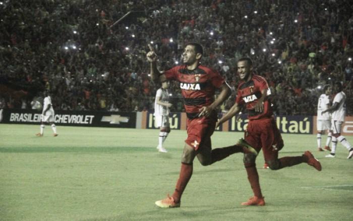 Diego Souza marcano centésimo jogo, Sport bate Atlético-PR e chega à terceira vitória seguida