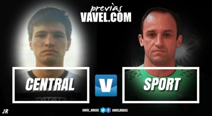 Com time titular modificado, Sport busca tirar invencibilidade do Central no Pernambucano