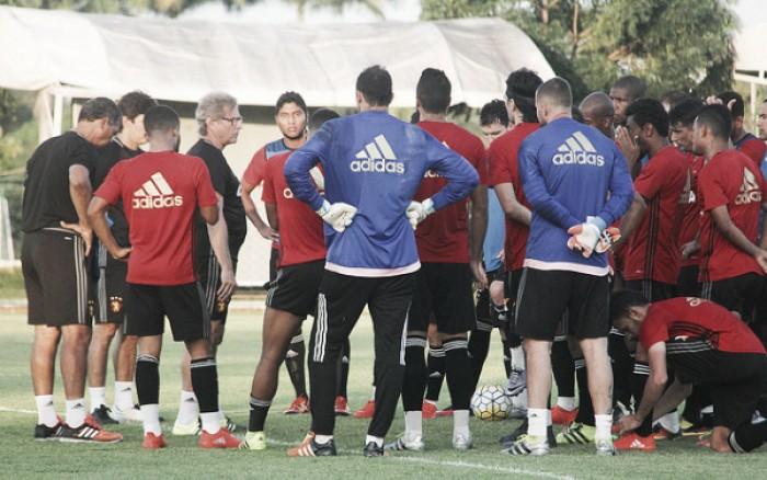 Com time indefinido, Sport encerra preparação para estreia na Copa Sul-Americana