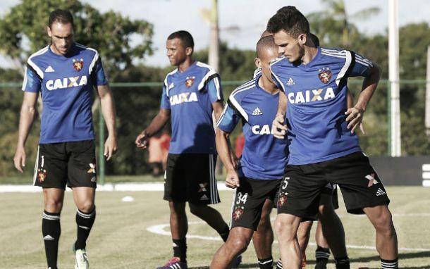 Sport encerra preparativos para jogo com Chapecoense e Eduardo Baptista não confirma time titular