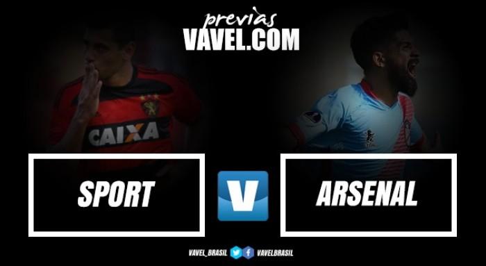 Sem Luxemburgo, Sport enfrenta Arsenal-ARG pela ida da segunda fase na Sul-Americana