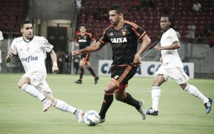Buscando deixar Z-4, Sport recebe líder Palmeiras na estreia do atacante Rogério como titular