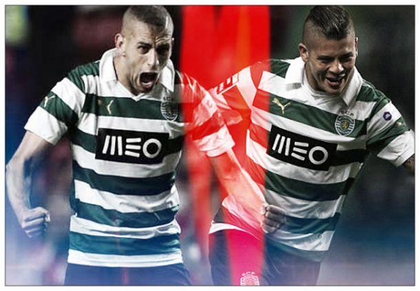Rojo e Slimani forçam saída do Sporting