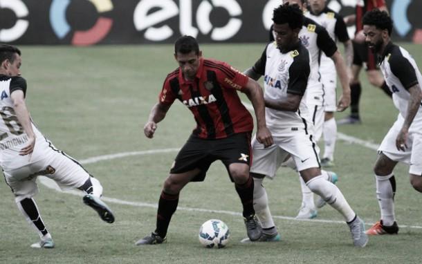 Sport mostra força dos torcedores e bate Corinthians em jogo equilibrado