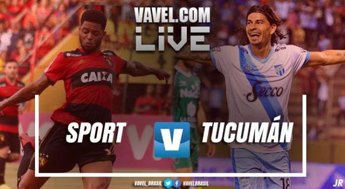 Resultado Sport x Atlético Tucumán-ARG pela Taça Ariano Suassuna 2018 (2-0)