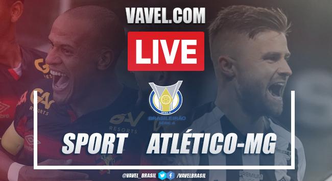 Gols e melhores momentos de Sport 2x3 Atlético-MG pelo Campeonato Brasileiro