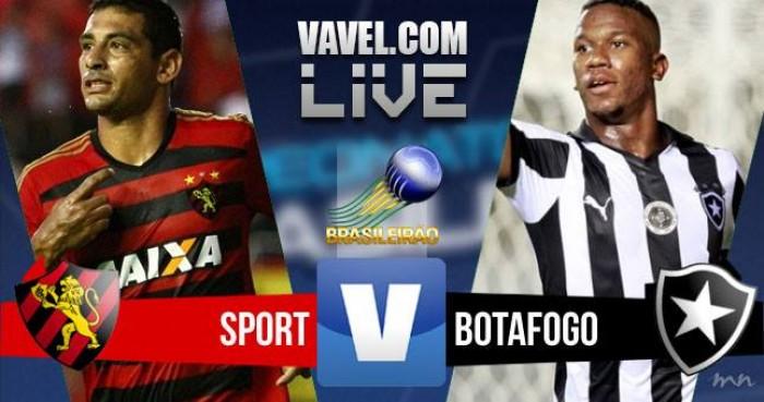 Resultado Sport x Botafogo pelo Brasileirão 2016 (1-1)