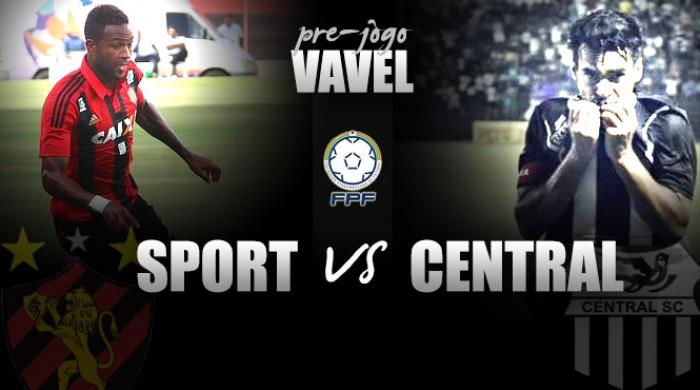 Sport recebe lanterna Central mirando consolidação no G-4 do Pernambucano
