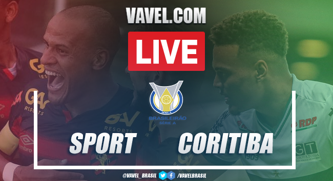 Resultado Sport 1 x 0 Coritiba pelo Campeonato Brasileiro
