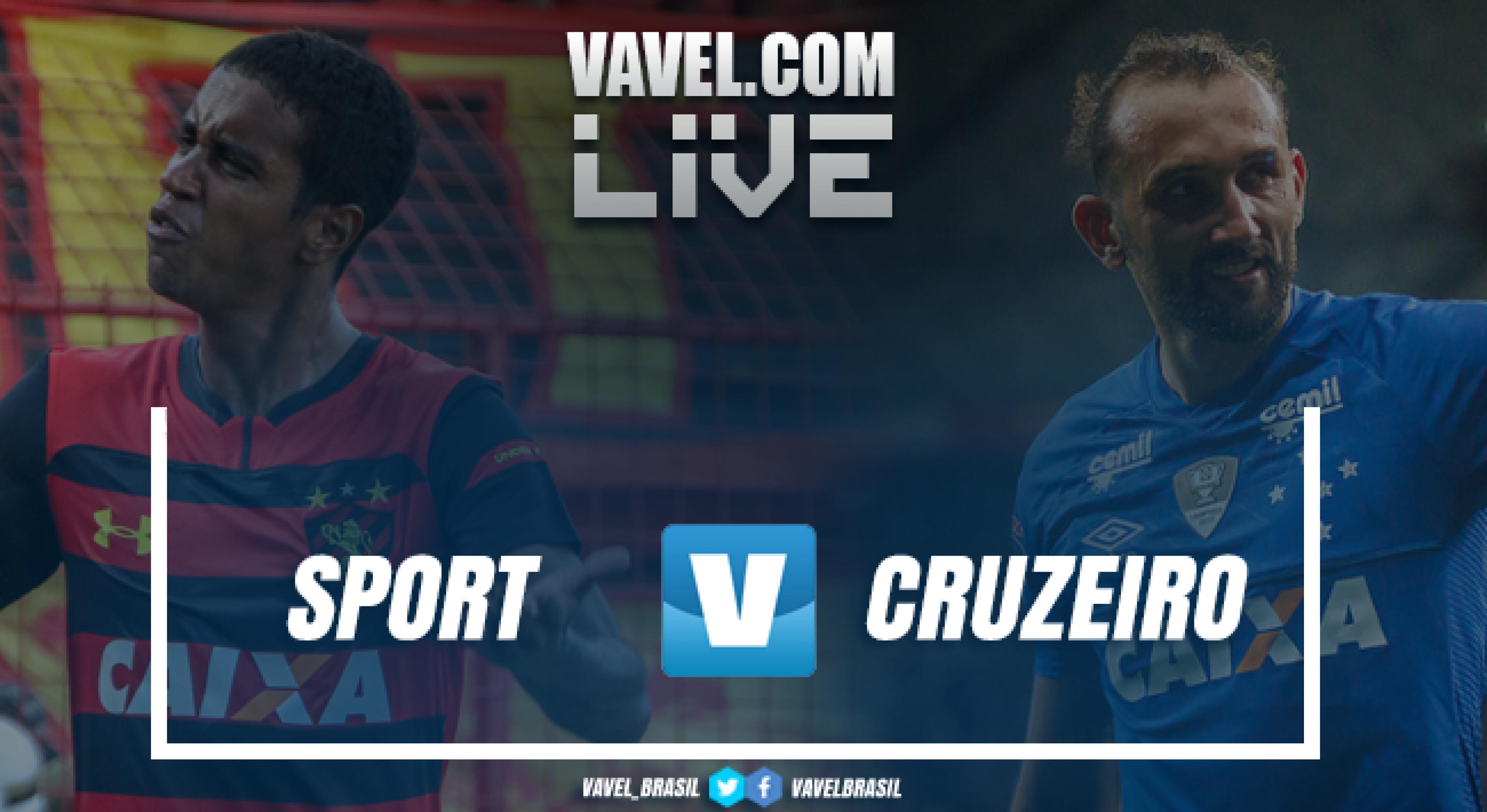 Resultado Sport 0 x 0 Cruzeiro pelo Campeonato Brasileiro 2018
