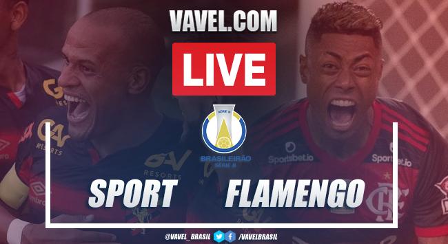 (Cunha) Gols e melhores momentos para Sport 0x3 Flamengo pelo Campeonato Brasileiro