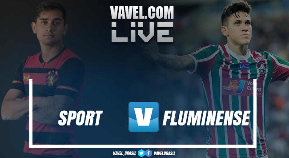 Resultado Sport 1 x 2 Fluminense pelo Campeonato Brasileiro 2018
