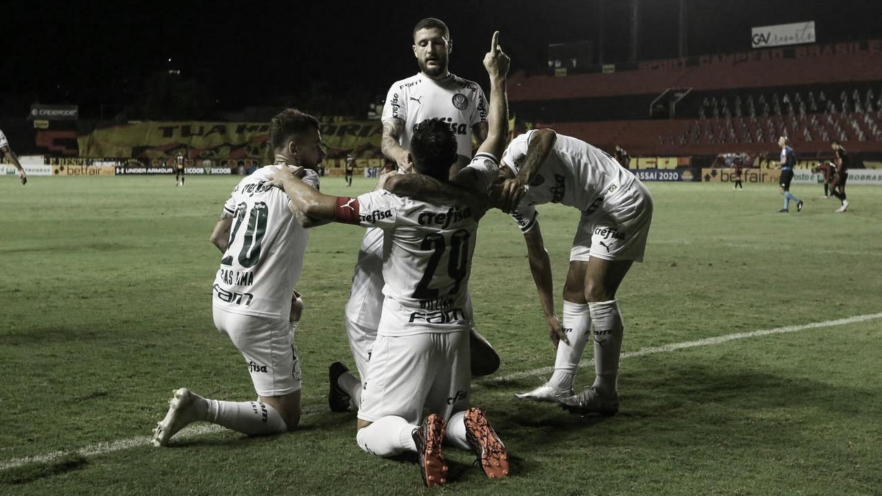 Palmeiras sofre no primeiro tempo, mas Willian garante vitória contra Sport