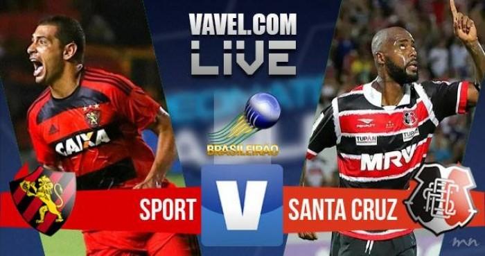 Resultado Sport x Santa Cruz no Campeonato Brasileiro 2016 (5-3)
