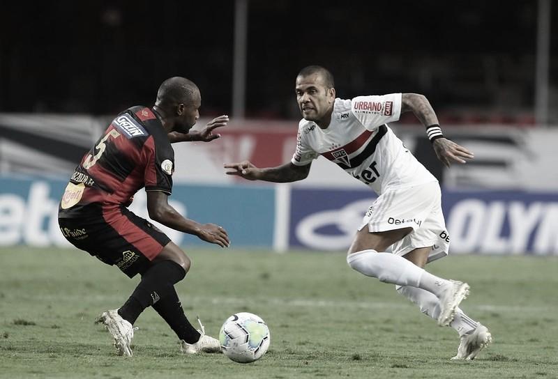 Gol e melhores momentos Sport x São Paulo pelo Campeonato Brasileiro 2021 (0-1)