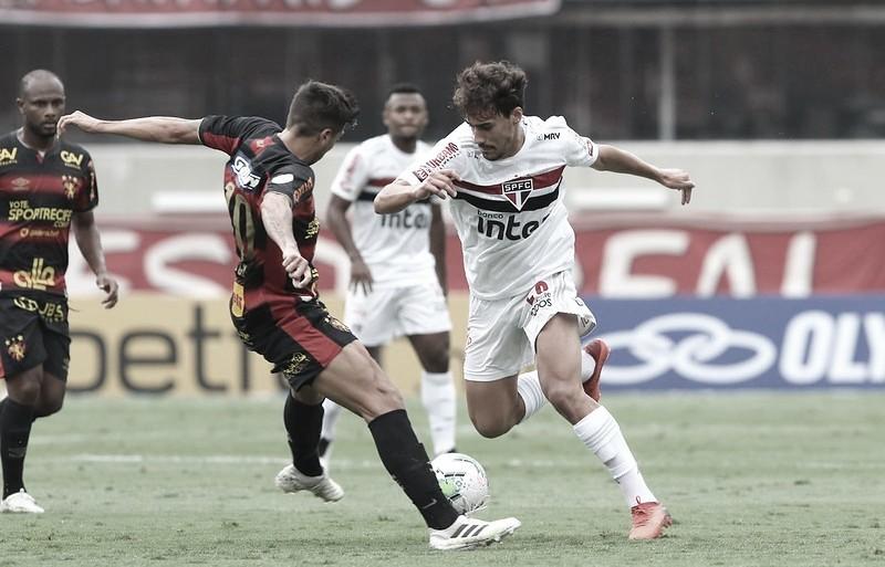Na zona de rebaixamento, Sport recebe pressionado São Paulo pelo Brasileirão