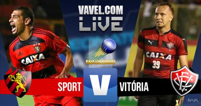 Resultado Sport x Vitória na Série A do Campeonato Brasileiro 2016 (1-0)