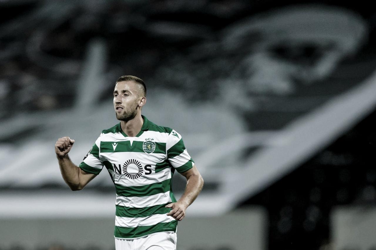 Autor de dois gols, Sporar fica 'desiludido' após Sporting ceder empate
