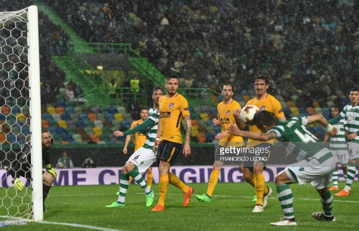 Sporting Clube de Portugal (1)1-0(2) Atletico Madrid: Montero's header unable to inspire Sporting revival