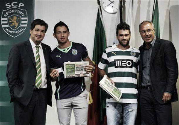 Vítor e Ivan Piris acertam com o Sporting