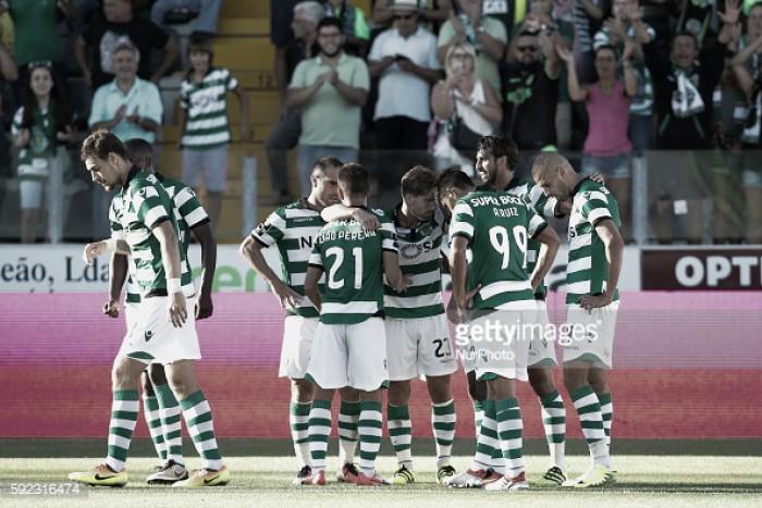 Paços Ferreira x Sporting: Capitão ao leme