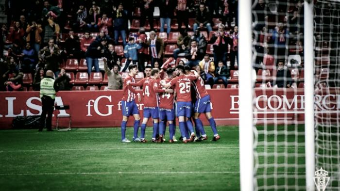 Sporting de Gijón - AD Alcorcón: puntuaciones de la AD Alcorcón, jornada 22 de Segunda División