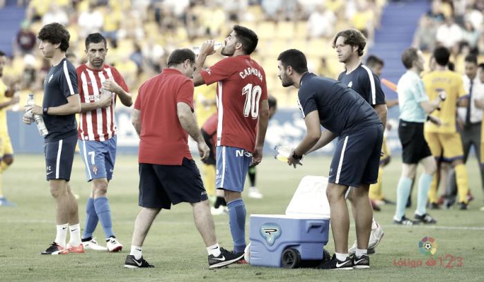 Alcorcón-Sporting: el calor como protagonista