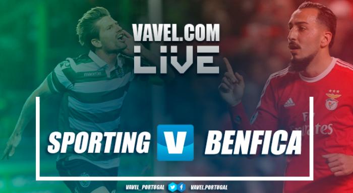 Resultado e gols Sporting 1x1 Benfica na Liga NOS 2017