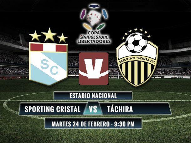 Resultado Sporting Cristal - Deportivo Táchira (1-1)