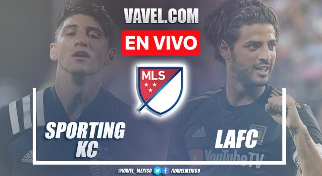 Goles y resumen del Sporting Kansas City 2-1 LAFC en MLS