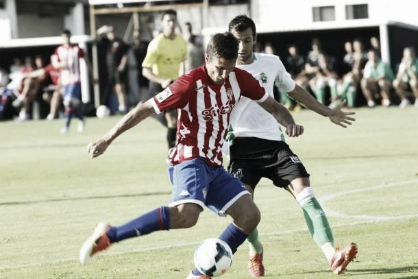 Sporting Gijón 2 - 1 Racing Santander: premio a la efectividad
