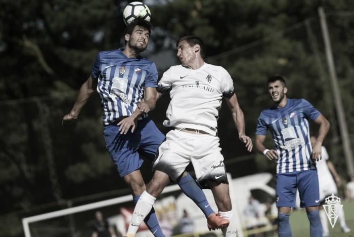 El Sporting provoca la primera derrota de la pretemporada a la Ponferradina