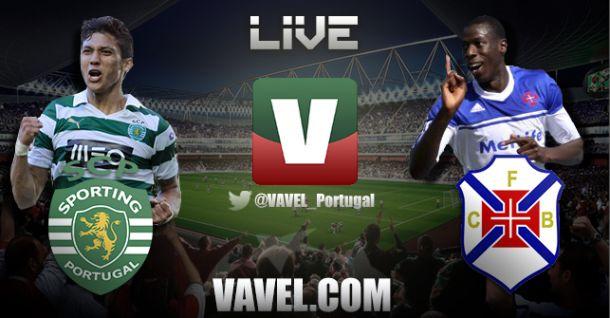 Sporting x Belenenses, directo online e ao vivo