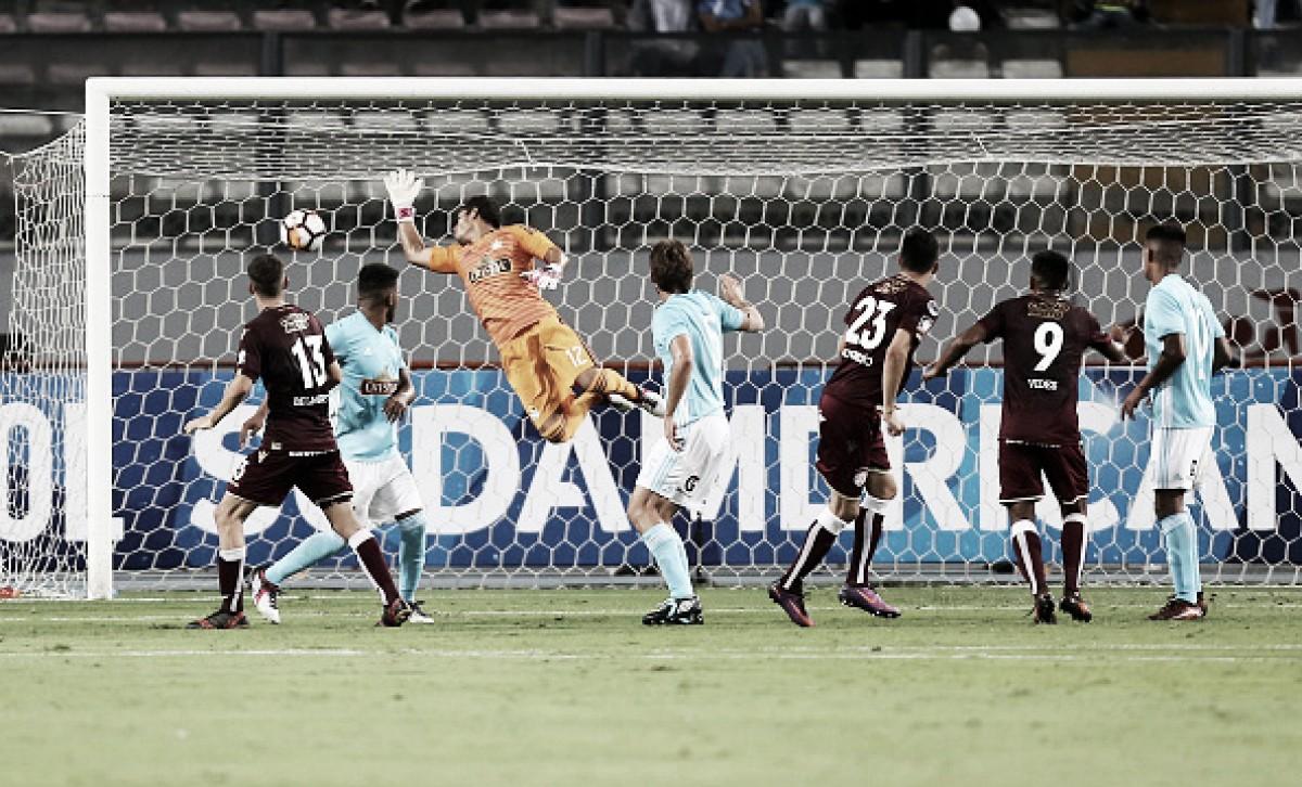 Lanús perde para Sporting Cristal, mas avança de fase na Copa Sul-Americana
