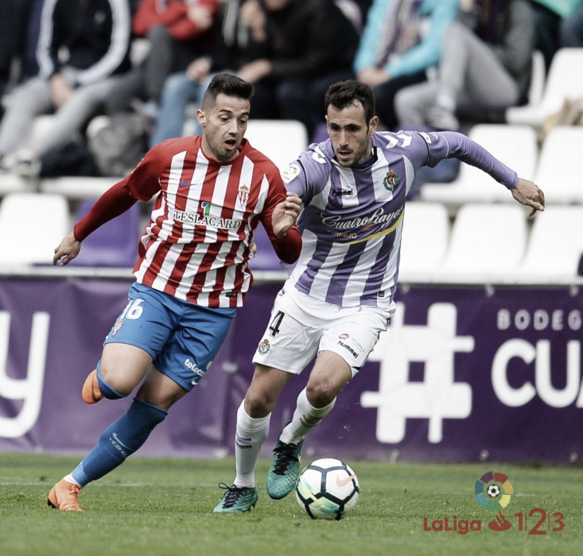 Enfrentamientos históricos entre Real Valladolid y Real Sporting de Gijón