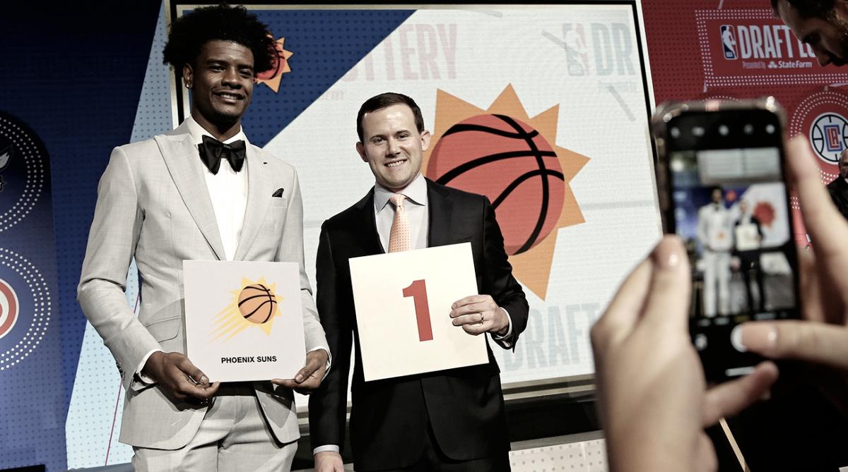 Suns elegirán primero en el NBA Draft