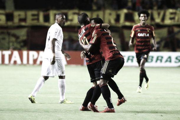 Destacável atuação de Régis garante vitória do Sport ante Santos na Copa do Brasil