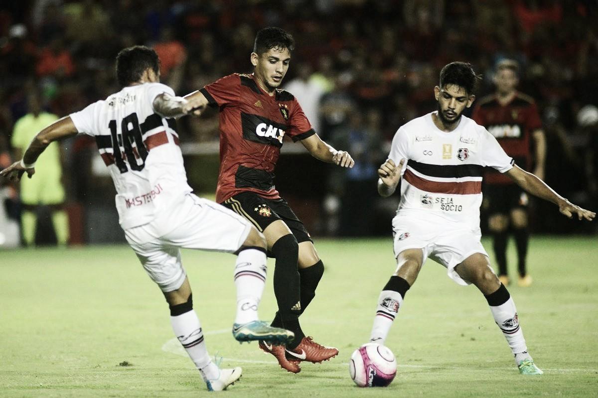 Sport e Santa Cruz fazem clássico decisivo nas quartas de final do Pernambucano