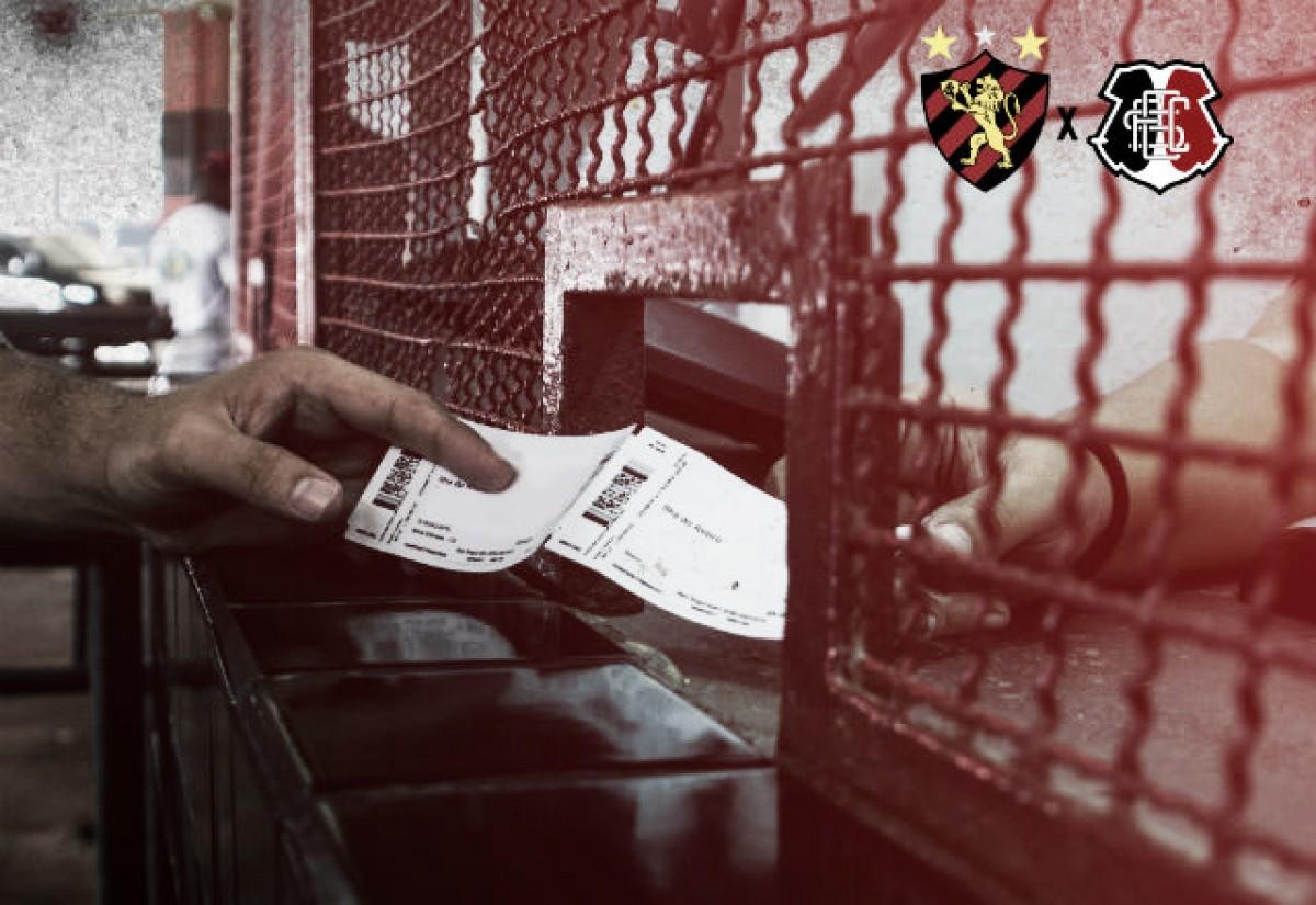 CLÁSSICOS DAS MULTIDÕES: Sport x Santa Cruz: confira informações e valores dos ingressos