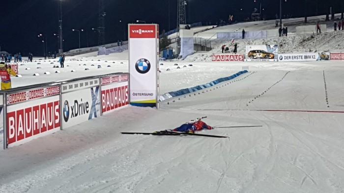 Tarjei Boe s'impose sur le sprint Hommes d'Östersund