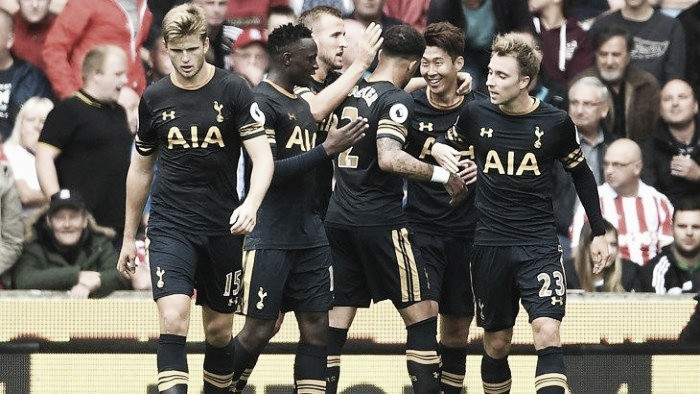 "Tottenham leave the Bet 365 stadium with all three points following ""perfect performance"""