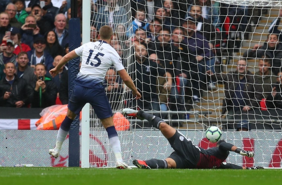 Tottenham Hotspur 1-0 Cardiff City: Spurs bounce back from mid-week defeat to pile misery on Bluebirds